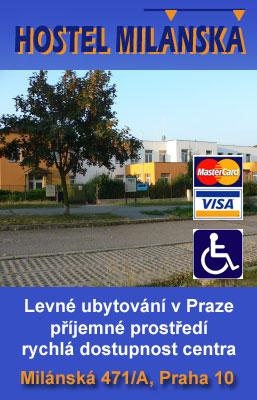 Hostel sun, Milánská, Praha 10, levné ubytování v Praze